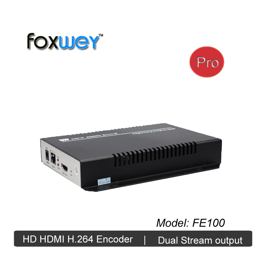 Full HD 1080P H264 encoder hardware for live video streaming broadcast H.264 MPEG-4 AVC dual streams for any live casting FOXWEY hd hdmi live streaming devices h 265 encoder hardware for video streaming over 4g encoder digital camera hot shoe mount foxwey