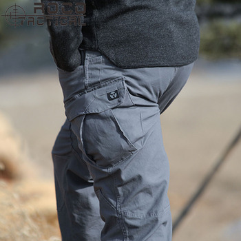 ROCOTACTICAL Mens High Quality Multi-Pockets Tactical Pants Loose Military Cargo Pants Outdoor Camping Hiking Pants