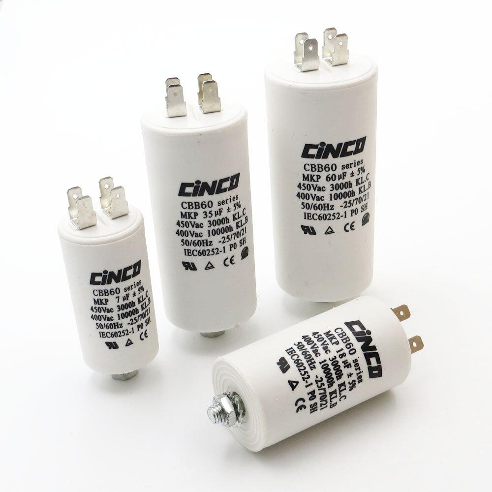 Capacitor 6,3 MF 450v Inspiration Pump Motor//Dish