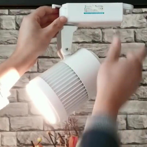 levou faixa spot light lampada de parede