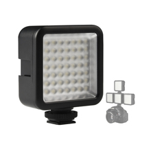 Mini 49 LED Video Camera Light Panel Lamp 5.5W 800lm 6000K for Canon Nikon DSLR Camera Camcorder DVR DV Photography mcoplus 168 led video light on camera photographic photography panel lighting for canon nikon sony dv camera camcorder vs cn 160