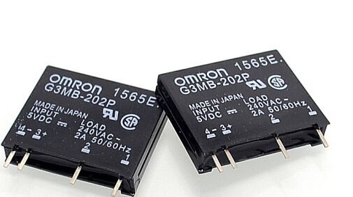 5pcs/lot New original solid state relay G3MB-202P DC-AC PCB SSR In 5VDC,Out 240V AC 2A