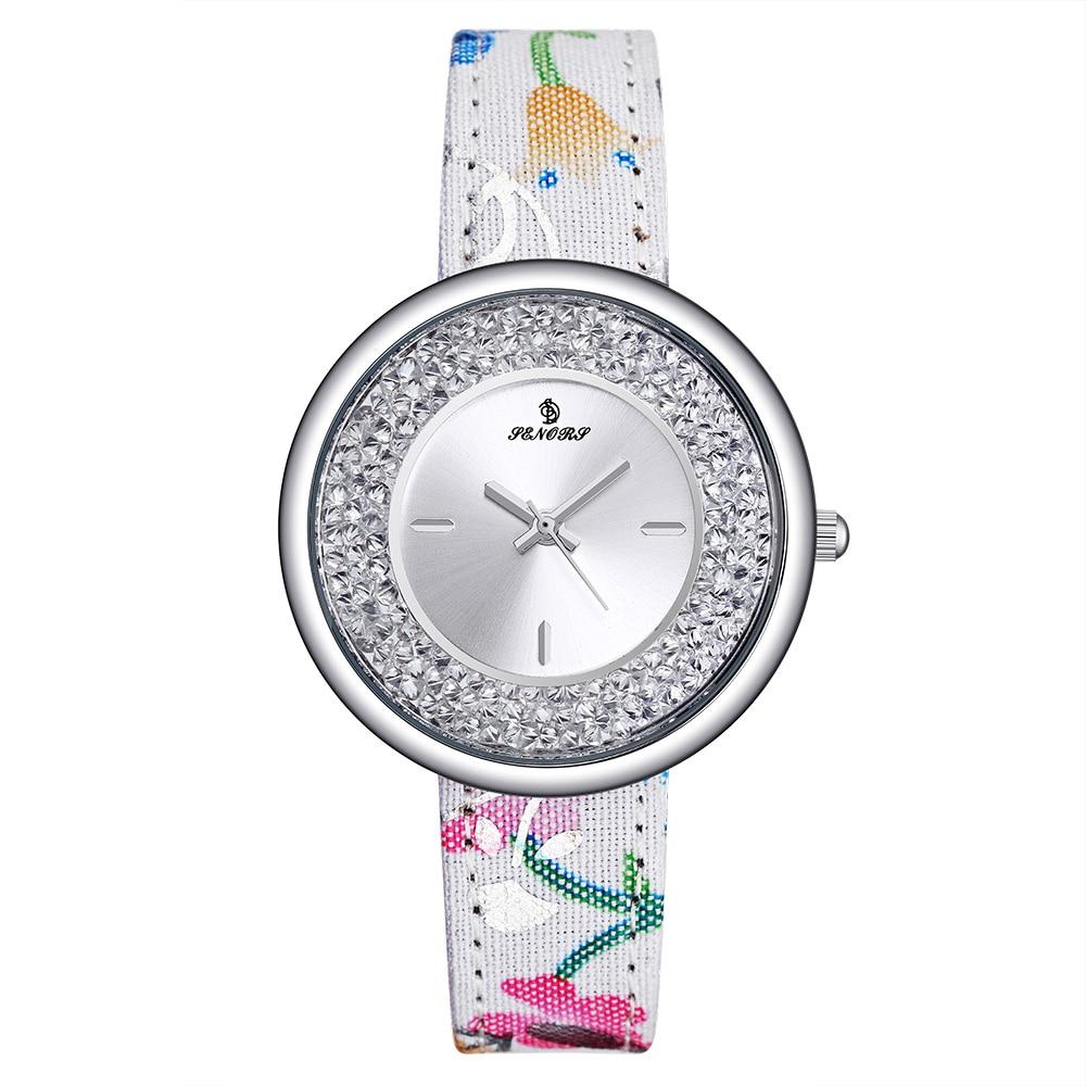 2019 fashion Leisure Creative Woman Watch Fashion Leather Military Casual Analog Quartz Wrist Business Watches