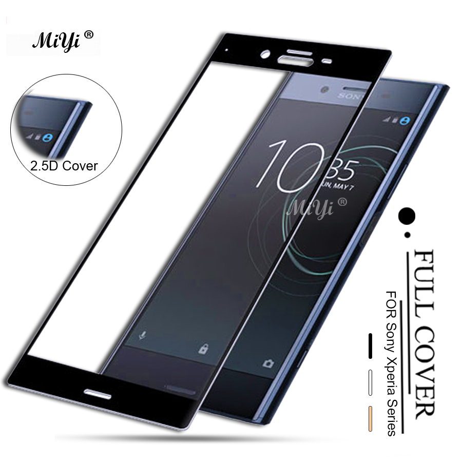 Tempered Glass For Sony Xperia XA XA1 XA2 Ultra X Compact XZ Premium Screen Protector For Sony XC XZ1 XP XZS H4233 F3111 Glass