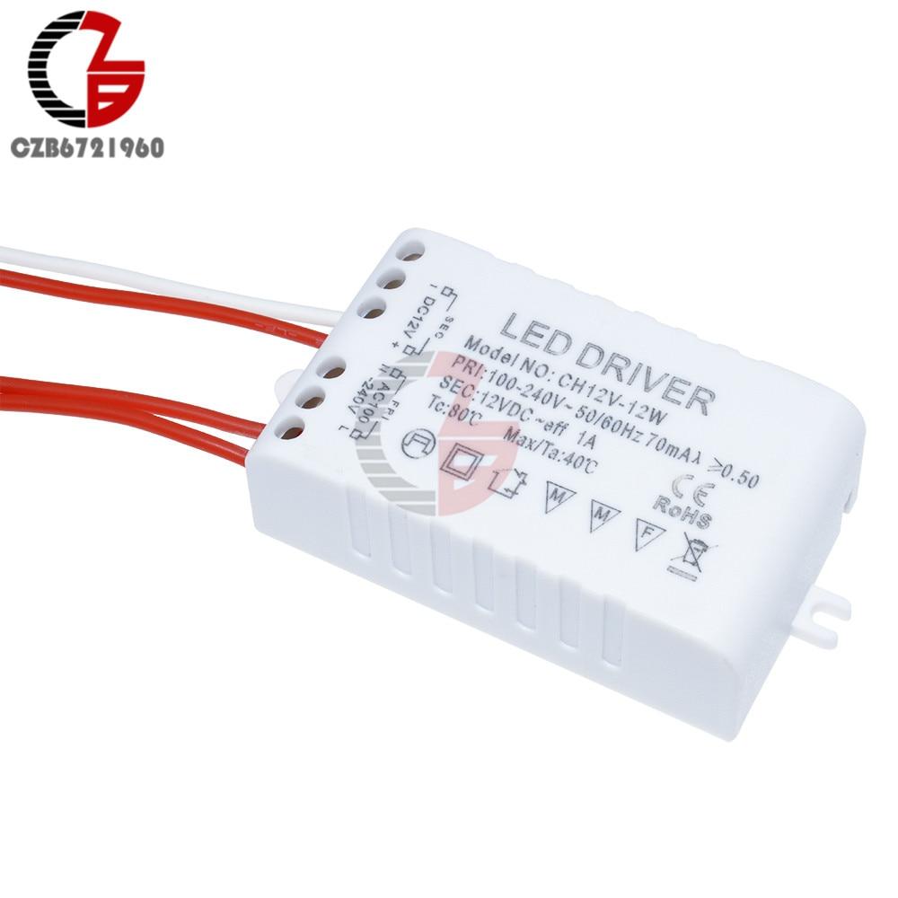 12W 1A 12V Led Driver Power Transformer Adapter Supply for LED Strip Light LED Ceiling Downlight Lamp