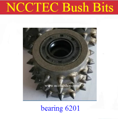 bush hammer plate bits 14 24 30 <font><b>45</b></font> <font><b>60</b></font> teeth | Alloy carbide hammer head part for Litchi granite surface grinding image