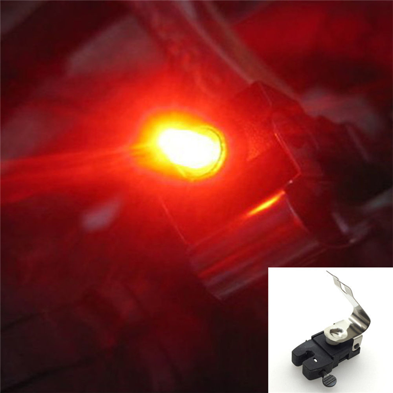 2017 Mini Travel CR1025 Battery Wheel Spokes Bike Brake Light Mountain Bicycle Led Light Limited Real Cycling Accessories