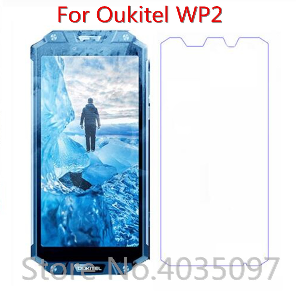 2PCS Tempered Glass For Oukitel WP2 Screen Protector 9H 2.5D Phone Protective Glass For Oukitel WP2 Glass