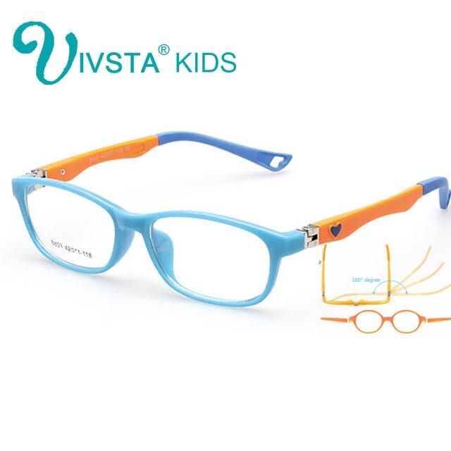 f41191d286 Online Shop IVSTA Kids Glasses Frames in Girls Eyeglasses Optical Eye  Glasses Boys Eyewear Flexible Prescription Pink Kids Eyeglass Frames