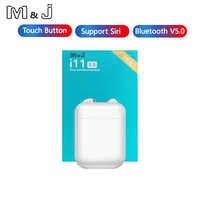 Control táctil i11 TWS Mini 5,0 auricular Bluetooth auriculares inalámbricos auriculares invisibles portátiles para teléfono inteligente xiaomi Iphone
