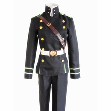 Seraph of The End Cosplay Yuichiro Hyakuya Costume Men's Wear Men Suiting Dinner Coat Tuxedo Men's Dress Battle Suit the end of the battle
