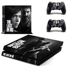 Cuối Cùng Của Hoa Kỳ Da Vincy Da Miếng Dán Kính Cường Lực Cho Sony PS4 PlayStation 4 Và 2 Bộ Điều Khiển Da Dành Cho PS4 tay Cầm Miếng Dán Da