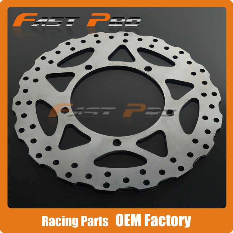 цены Front Brake Disc Rotor For Kawasaki Ninja 250 SL EX250 Z250 Z300 2015 Ninja 300 EX300 ABS 13 14 15 Motorcycle Street Bike