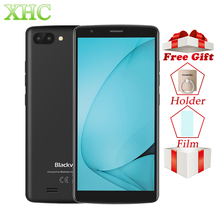 WCDMA 3g Blackview A20, 5,5 дюйма, полноэкранные мобильные телефоны, 1 ГБ ОЗУ, 8 Гб ПЗУ, Android MTK6580, четыре ядра, МП, две sim карты, смартфоны