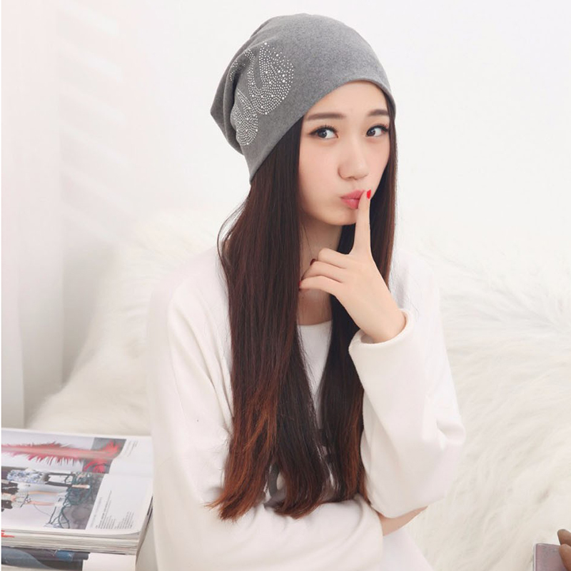 New Arrival Winter Hats for Women Supreme Ladies Beanies Swan Touca  Diamonds Red Skullies Hip hop Female Gorras-in Skullies   Beanies from  Apparel ... 8bf6d4382c6
