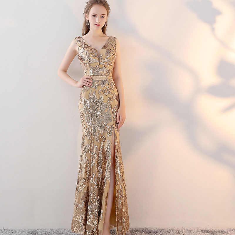Gold Evening Dresses