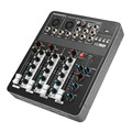 Bluetooth 4 Kanal Audio Mixer 220 V Karaoke Mikrofon Sound Mischen Verstärker Konsole Mit USB Eingebauten 48 V Phantom Power|Karaoke-Player|Verbraucherelektronik -
