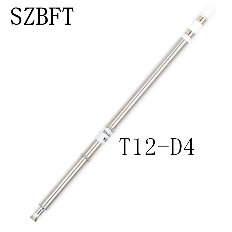 SZBFT Soldering Iron Tips T12-D4 D08 D12 D16 D24 D32 D52 Series For Hakko Soldering Rework Station FX-951 FX-952