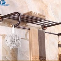 POIQIHY Rose golden towel rack with ceramic towel rod rack shelf towel rack fashion bathroom accessories luxury bath towel