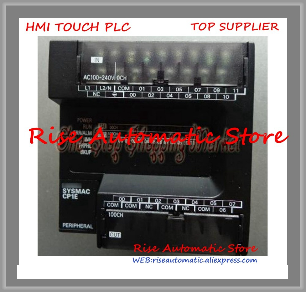 купить Input 8 Point Relay Output 6 Point PLC Module CP1E-E14R-A 240V New Original по цене 5535 рублей