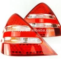 For Mercedes Benz R170 SLK200 SLK230 SLK320 LED Tail Lamps 1996 2004 year Red White Color LF