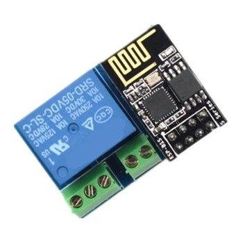 Módulo de relé ESP8266 ESP-01S módulo de relé de 5V WiFi Control remoto en casa inteligente Relé inalámbrico de desbloqueo para proyecto DIY