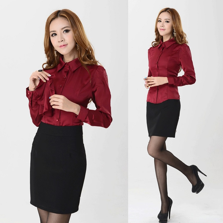Popular Women Skirt Suits for Work-Buy Cheap Women Skirt Suits for ...