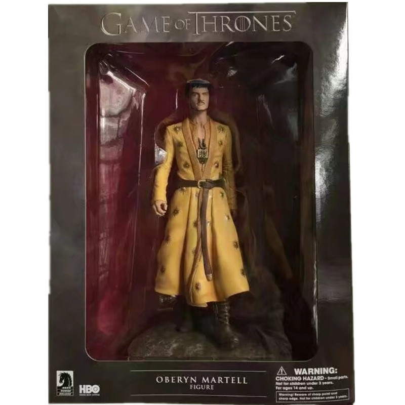HBO Game of Thrones OBERYN MERTELL Grey Worm Night King Jon Snow Danerys Targaryen Aya Stark Tyrion Lanniter Figure Vinyl Toy game of thrones jon snow wigs black curly synthetic hair