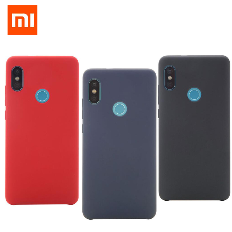 Original Xiaomi Redmi Note 5 Case Cover 4GB RAM 64GB Snapdragon 636 Phone protective Back Case luxury PC Soft fiber Redmi Note5
