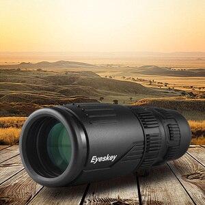 Image 2 - Eyeskey zoom 8 24x42 compacto e portátil, monóculo monocular à prova d água, com telescópio bak4, para acampamento e fome