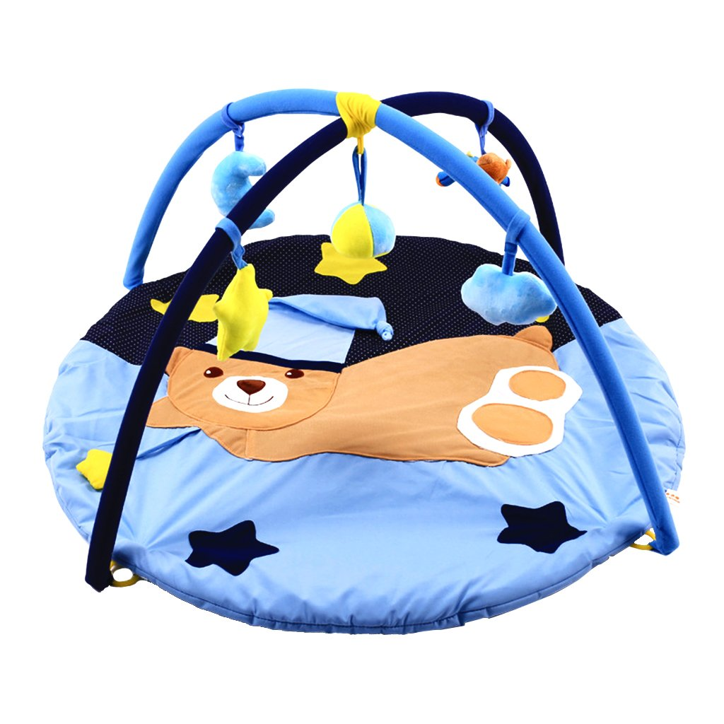 Newborn Baby Crawling Sleeping Play Mat Soft Mattress Floor Carpet Rug Game Toy Pad Cushion Educational Playmat for Infant Kids