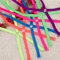 Moda Fluorescente Volver Cross Correas de Hombro color Caramelo Linda Chica Tirantes Del Sujetador Correas de Estilo Colorido de Las Mujeres Del Verano 11900