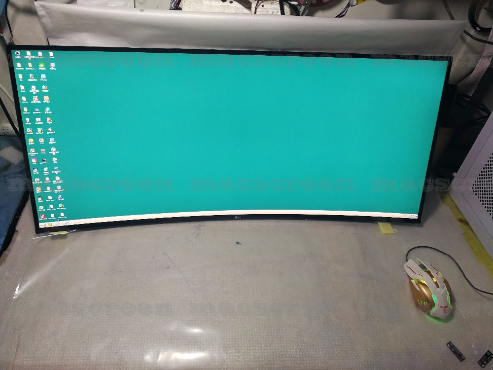 34INCH 4K 21:9  CURVED ALTRAWIDE PANEL LM340UW3 SS A1 SSA1 WITH DRIVER BOARD FOR LG DIY 34UC99-W U3417W   MONITOR
