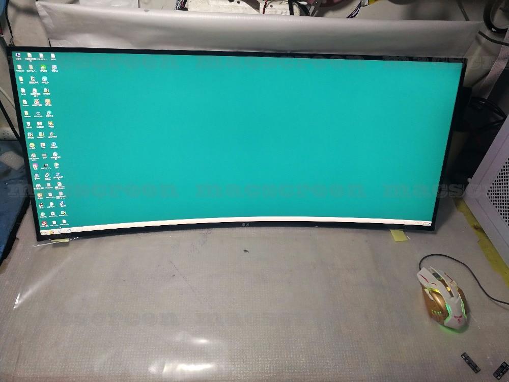 Panneau ALTRAWIDE incurvé 34 pouces 4 K 21:9 LM340UW3 SS A1 SSA1 avec carte pilote pour LG bricolage 34UC99-W U3417W moniteur
