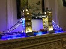 LEVOU Kit de Luz (apenas luz incluído) para lego 10214 Compatível com 17004 Criador Especialista London bridge Modelo de Construção