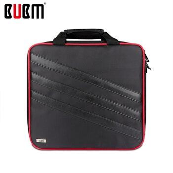 BUBM bag for PS4 PRO console receiving game storage organizor shoulder bag handbag black