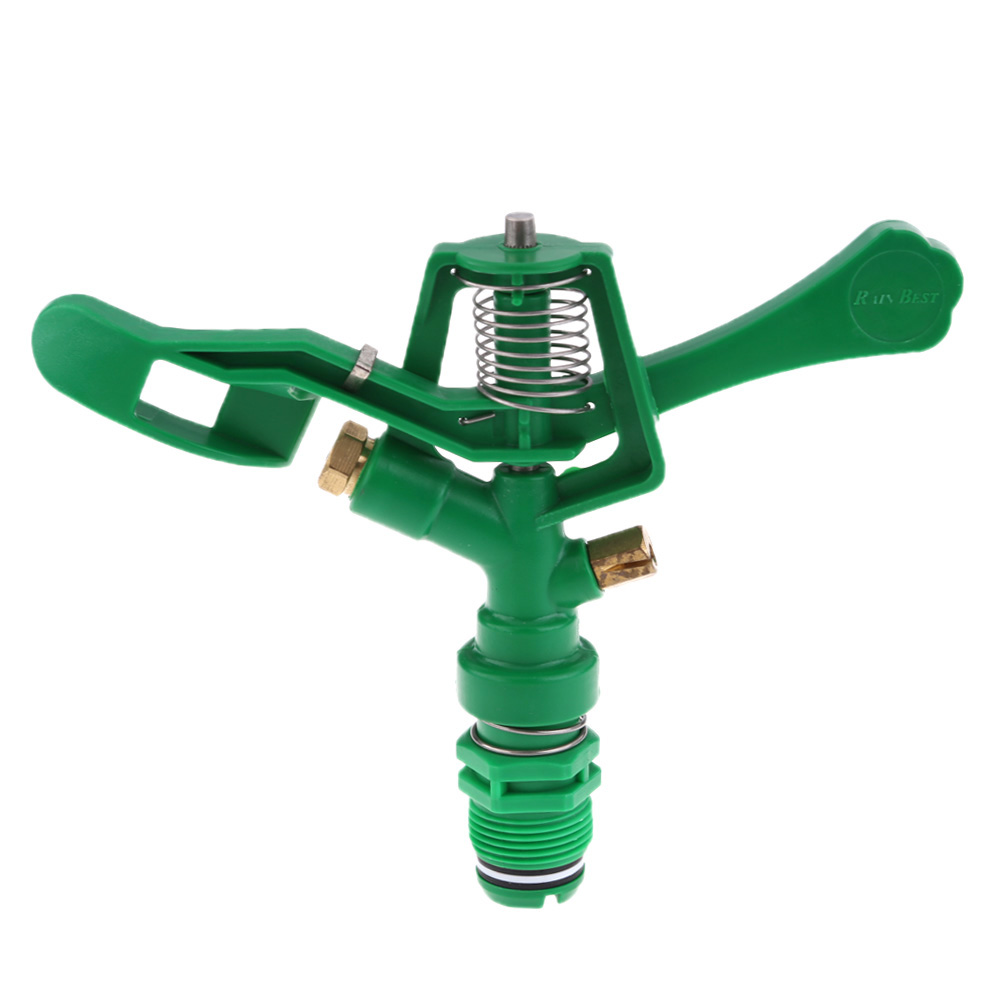 New Arrival High Quality Professional Lawn Woods Farmland Garden Plastic Blue Impact Sprinkler Garden Irrigation Tool impact of small scale irrigation schemes on poverty reduction