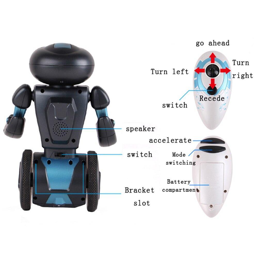 Commande vocale Rc Robot Jouets Pour Enfants 5 D'exploitation Modes Télécommande Intelligente Humanoide Robotique Présent Jouets Électroniques - 4
