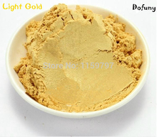 Light Gold color nail polish pigment, DIY eyeshadow makeup powder, Pearlescent powder,mica effect pigment, цена
