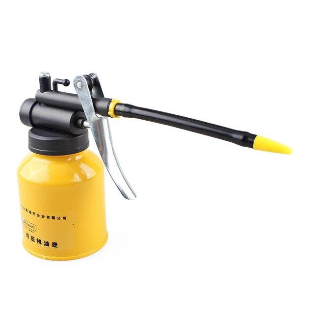 Hot hvlp oiler pump hose machine oil pot grease spray gun for Spray gun for oil based paints