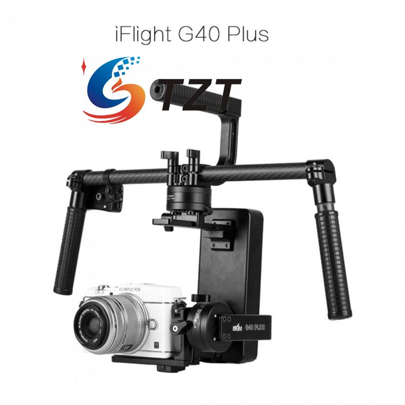 iFlight G40 Plus 3-Axis Handheld Brushless Gimbal(include Brushless and 32bit Controller) free shipping 32 bits controller dys dslr handheld brushless gimbal with joystic and new 6080 motor