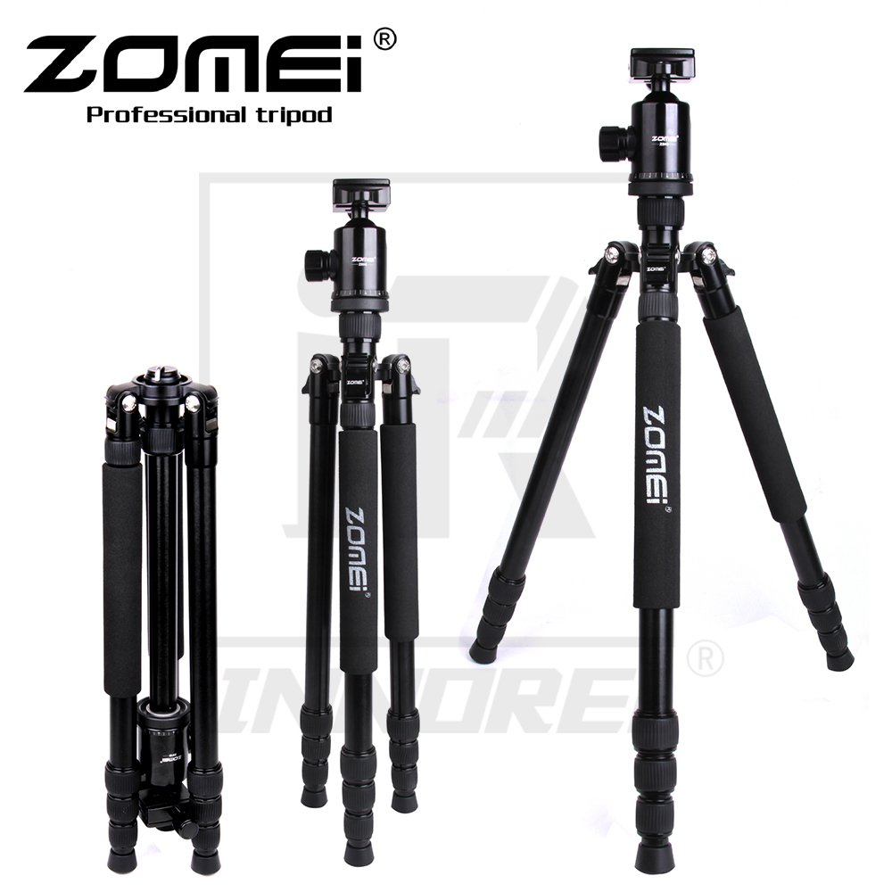 Zomei Z888 Professional Aluminium Alloy Tripod Kit Monopod Z818 For DSLR Camera Five Colors Available Light Compact Portable цена