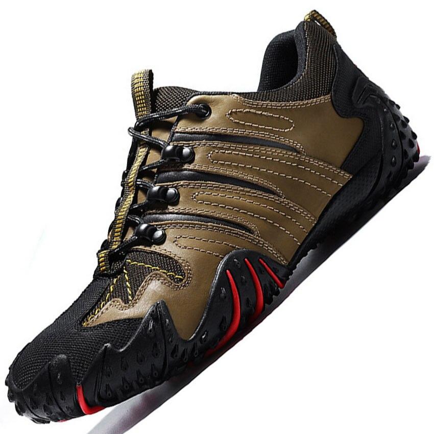 Al aire libre marca sport zapatos corrientes de los hombres encienden los zapato