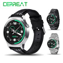 GW01 MTK2502 Bluetooth 4.0 Montre Smart Watch IPS Écran Rond Fitness Tracker Anti-perte Smartwatch Montre-Bracelet Pour Android IOS Montres