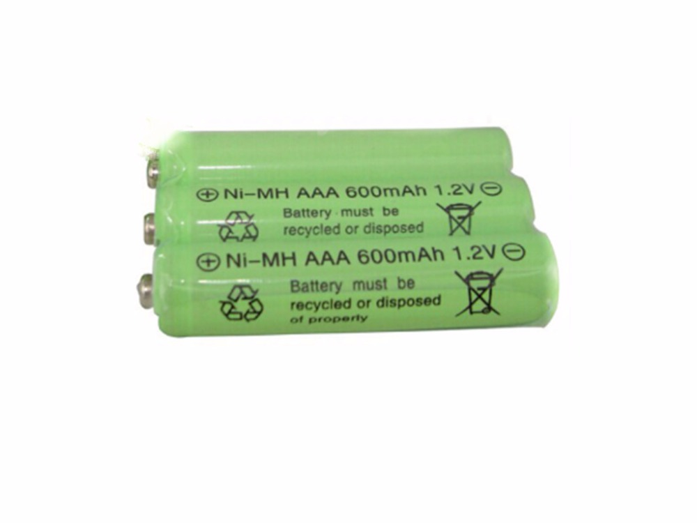 3psc Lot 1 2v 600mah Aaa Remote Control Toy Rechargeable