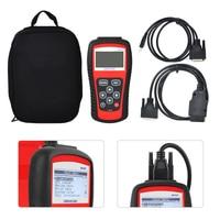 Car EOBD OBD2 OBDII Live Data Code Reader Diagnostic Scanner Check Engine MS509 Kit Tool Fit