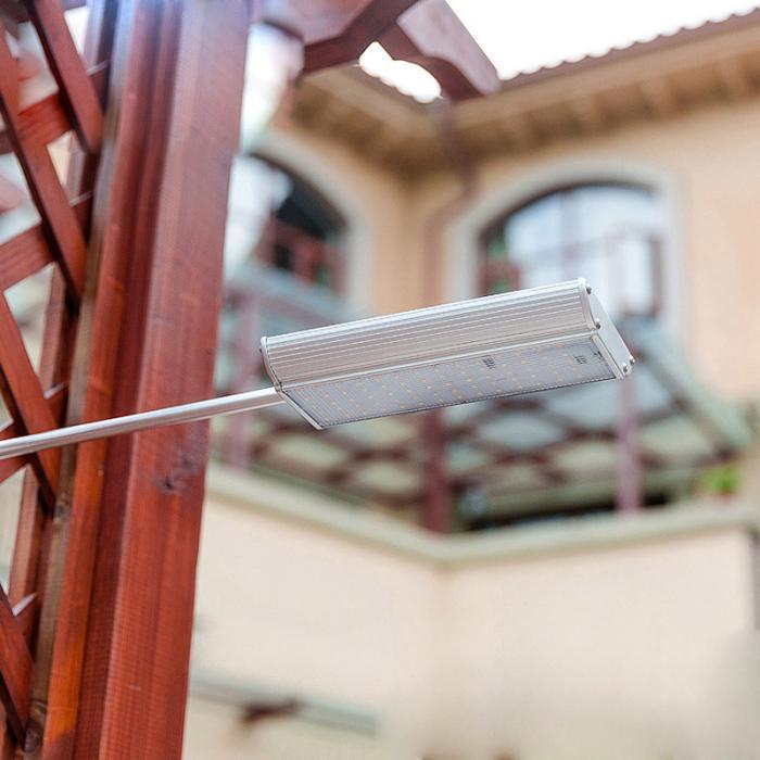 Solar 70 leds sensor de movimento luz