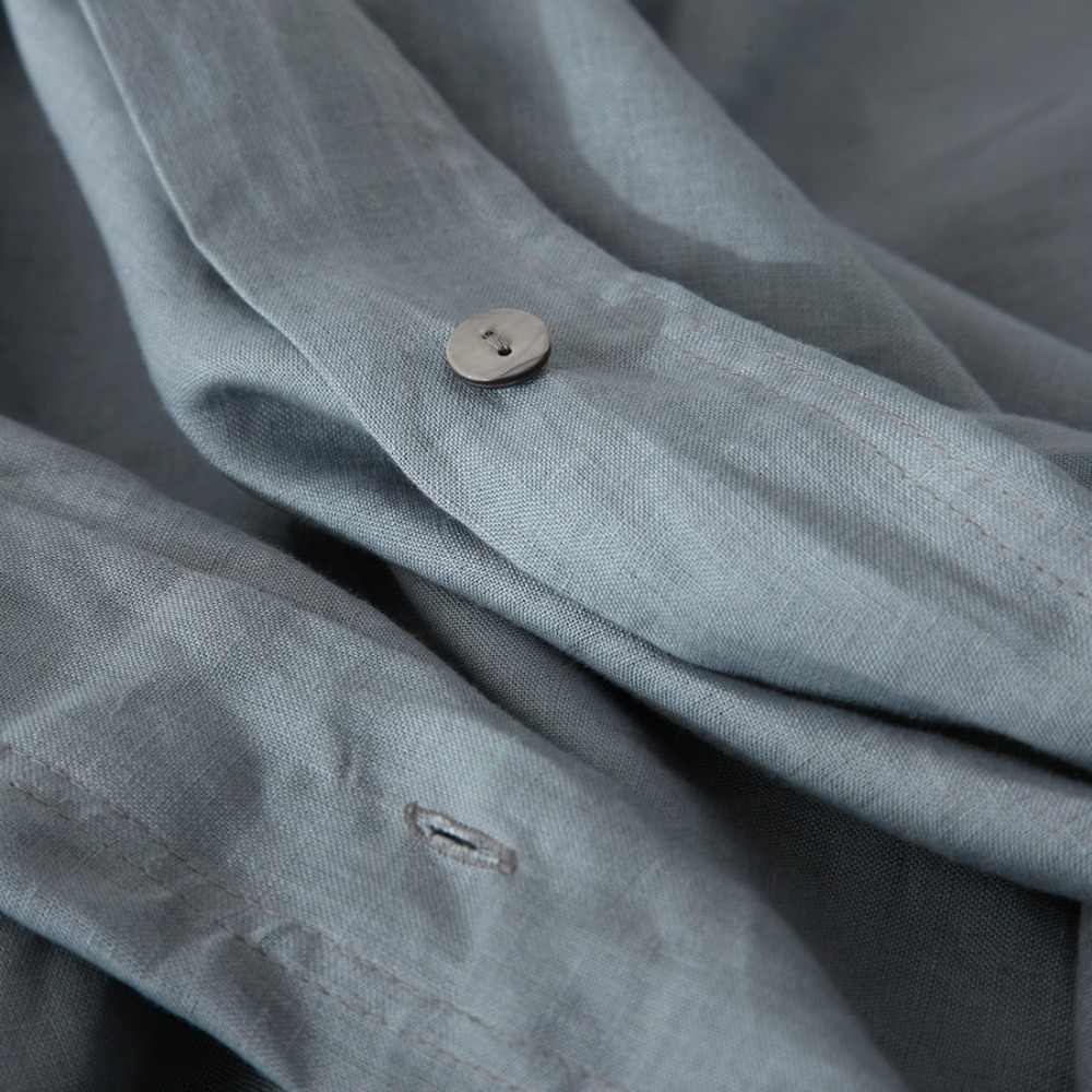 4 шт./компл. натуральный стирка с энзимами 100% чисто льняные комплекты постельного белья из льна пододеяльник льняной листов