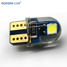 MODERN CAR 2pcs T10 3030 2SMD drl Turn Signal Lights W5W 194 168 501 LED Runing Daytime Reading Light Bulb Lamps For Car 6000K