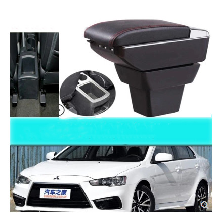 Armrest Console Center Storage Box with Base Cup Holder Ashtray for Toyota Prius C